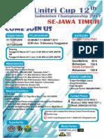 Pamflet Unitri Cup 12
