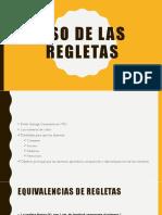 Uso de Las Regletas