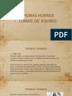 Thomas Hobbes y Tomas de Aquino