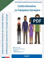 Cartilla Informativa Trabajadores Extranjeros Instituto de Seguridad Laboral