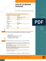 ATP III Guidelines for Cholesterol