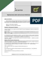 Operaciones Sobre Estructuras Dinamicas (C++)