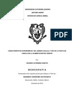 CARACTERISTICAS AGRONOMICAS DEL GENERO Brassica Y USO DE LA PASTA DE CANOLA EN LA ALIMENTACION DE CERDOS