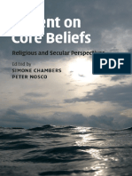 Simone Chambers, Peter Nosco Dissent on Core Beliefs Religious and Secular Perspectives