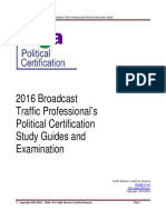 Political Certification Study Guide_0