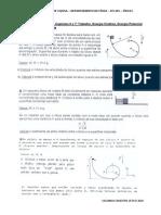 Exercícios FIS 201 - Capítulos 6 e 7 - Trabalho%2c Ene Rgia Cinética%2c Energia Potencial e Conservação Da Energ Ia