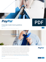 Brandbook Manual de Identidade Paypal 2013