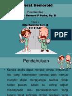 Ppt Hemoroid Ok
