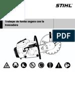 Manual Seguridad Tronzadora STHIL