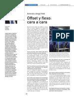 Comparativa entre flexografía y offset