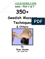 Swedish Massage 1 of 3 Ryan Hoyme