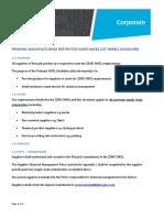PRIMARK MANUFACTURING RESTRICTED SUBSTANCES LIST (MRSL) GUIDELINES
