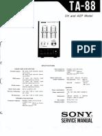 Sony TA-88 2F0657-1