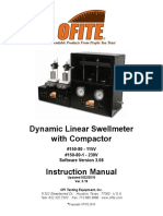 OFITE Dynamic Linear Swellmeter With Compactor 150-80-1