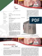 Horno Automatico a Gas r200g Ci Talsa 09401034