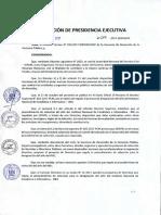 Directiva que regula el procedimiento de selección para la designación del Jefe del INEI
