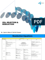 Cell Selection & Reselection Complete