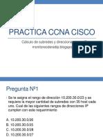 CCNA Cisco - Cálculo IP Subredes