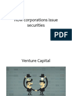 How Corporations Issue Securities