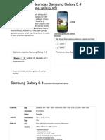 Samsung Galaxy S4 _ Caracteristicas y Especificaciones