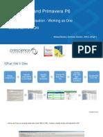 Prescience InEight HDP6 Webinar Integration Demonstration Slides