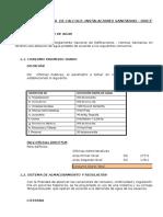 Diseño Del Sistema(Cist; t.e ; Tuberias) - Dircetur