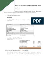 Diseño Del Sistema(Cist; t.e ; Tuberias) - Drasam 2