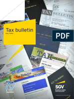 EY Philippines Tax Bulletin May 2016