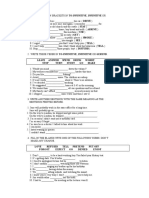 Gerunds and Infinitives Worksheet