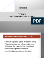 Topic 3 Developmental Tasks and Challenges