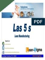Las 5 s Lean Manufacturing