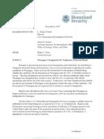 DHS and Nicaragua TPS