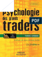 Psychologie Des Grands Traders - Thami Kabbaj