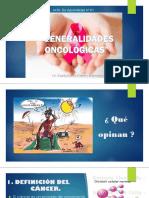 Nº 01 Generalidades Oncológicas
