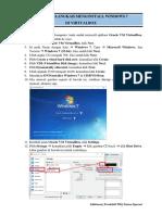 Langkah-langkah Menginstall Windows 7 Di Virtualbox