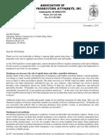AIPA Medical Marijuana Letter