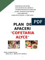 Plan de Afaceri Cofetarie