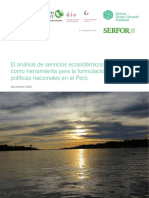 Servicios Ecocistemicos Politicas Nacionales