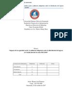Ensayo Impacto de La Seguridad Social y Afiliación Obligatoria Canadá (2012-2016)