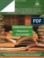 Manual URBE Para Tesis de Maestrias y Doctorados