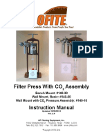 OFITE Filter Press With CO2 Assembly 140-30