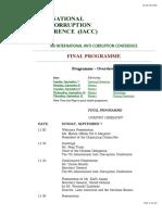 8th IACC Programm