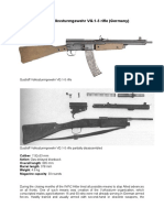 D585D Gustloff Volkssturmgewehr VG 1 5 Rifle Germany