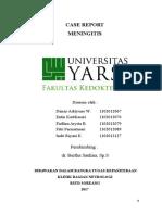 Case Report Meningitis FIX