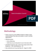 ADMA Data & Analytics Survey Results