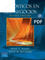 Pronósticos en los negocios, John E. Hanke 8va Ed.pdf