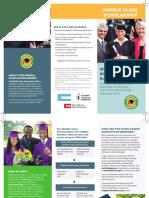 middle class scholarship  brochure
