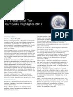 Dttl Tax Cambodiahighlights 2017