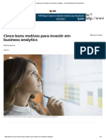 Cinco Bons Motivos Para Investir Em Business Analytics - Harvard Business Review Brasil