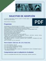 Formulario de Adopcion